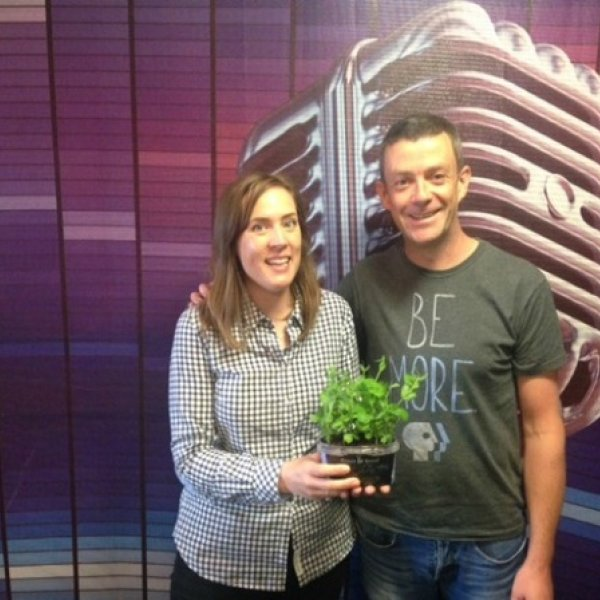 Michael Kelly, founder of GIY Ireland, went into Today FM this weekend to chat with Alison Curtis about #GivePeasAChance.  He even brought in supplies to get various shows in Today FM started... Let the comPEAtition commence (sorry).    Listen to Michael over on the Today FM site: http://www.todayfm.com/Give-Peas-A-Chance  You can find out more about the campaign here http://cullyandsully.com/ourgarden
